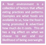 Food Environment Text Box