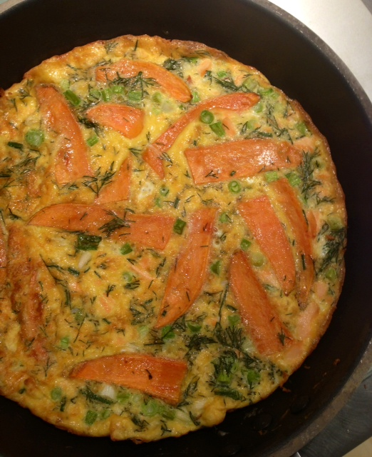 Spanish Omelette with Spring Onion and Sweet Potato - Natural Health ...