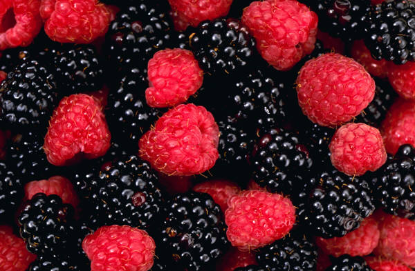 Berries for healthy eating