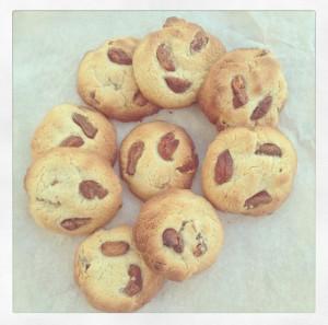 Apricot Ginger Tahini Cookies 2