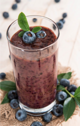 Green Hemp Berry Smoothie