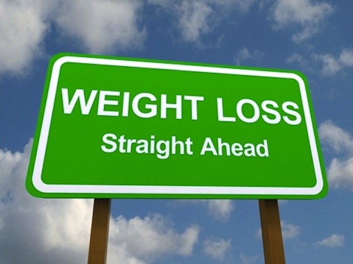 Weight Loss Straight Ahead