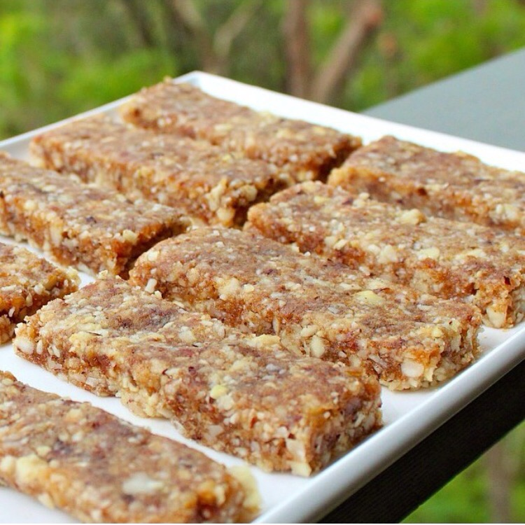 Brazil Nut, ginger bars