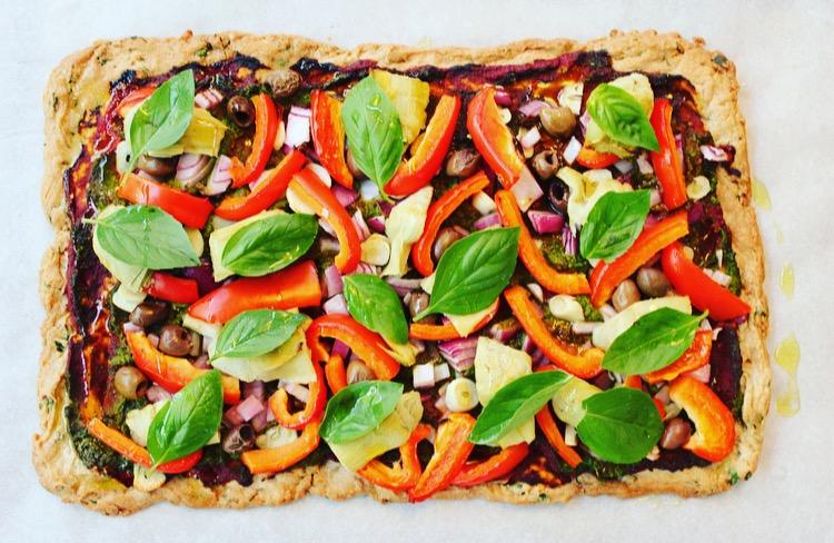 Buckwheat Pizza Base