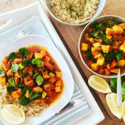 Spicy Veggie Stew