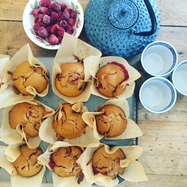 Raspberry Lemon Zest Muffins